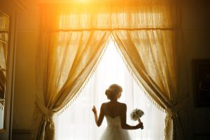 woman window dentist dental wolverhampton tettenhall wedding