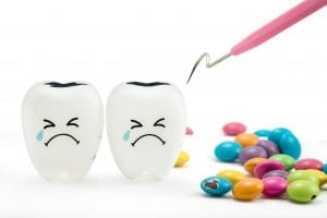 Teeth crying emotion from dental pain. Contact Rock House Dental Practice for an emergency dentist in Wolverhampton