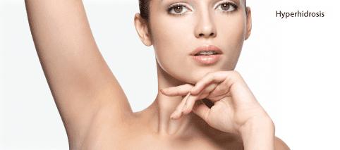 Hyperhidrosis Reduce Sweating Underarm Wolverhampton