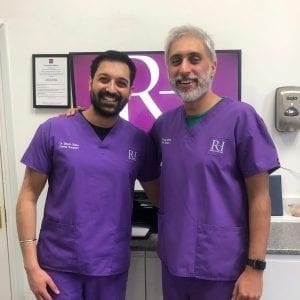 Simon and Anoup Dentist Wolverhampton