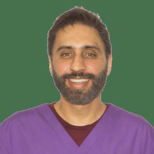 Dentist Wolverhampton Anoup Nandra Principal Dentist Rock House Dental Practice Headshot